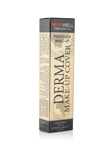 New Well New Welll Derma Cover - 01 Tüp Fondöten Renksiz